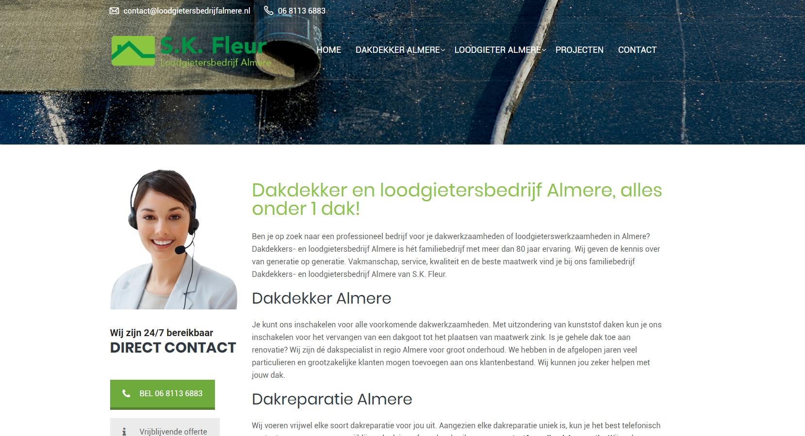 Loodgieter- & Dakdekkersbedrijf Almere
